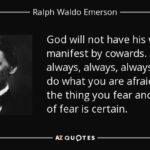 Ralph Waldo Emerson God Quotes Twitter