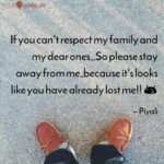 Respect My Family Quotes Facebook