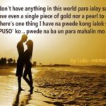 Romantic Message For Girlfriend Tagalog Pinterest