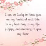 Romantic Wedding Anniversary Wishes For Husband Pinterest