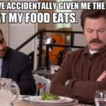 Ron Swanson Meat Quotes Twitter