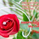 Rose Day For My Love Twitter