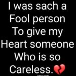 Sad Careless Quotes Pinterest