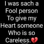Sad Careless Quotes Pinterest