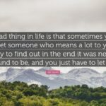 Sad Letting Go Quotes