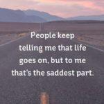 Sad Life Caption Pinterest