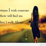 Sad Quotes Alone