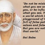 Shirdi Sai Baba Quotes On Life Tumblr
