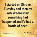 Shrove Tuesday Quotes Facebook
