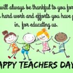 Simple Message For Teachers Day Pinterest