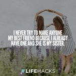 Sister Like A Best Friend Quotes