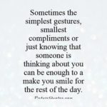 Small Gestures Of Love Quotes Pinterest