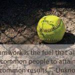 Softball Teamwork Quotes Tumblr