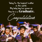 Son College Graduation Message Facebook
