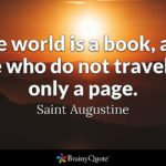 St Augustine Quotes On Education