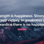 Strength Happiness Quotes Facebook