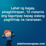 Success Quotes Tagalog