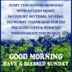 Sunday Good Morning Message Facebook