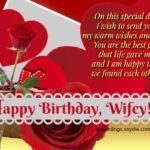 Sweet Birthday Message For My Wife