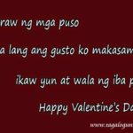 Sweet Message For Valentines Day Tagalog Pinterest