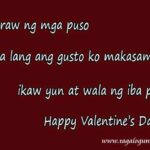 Sweet Message For Valentines Day Tagalog Tumblr