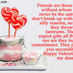 Sweet Valentine Messages For Friends Tumblr