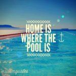 Swimming Pool Caption Pinterest