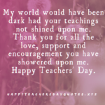 Teachers Day Par Thought Tumblr