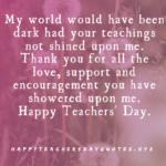 Teachers Day Par Thought Tumblr