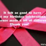Thank You For Celebrating My Birthday Quotes Tumblr