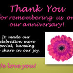 Thank You Quotes For Anniversary Pinterest