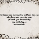 Thank You Quotes For Birthday Pinterest
