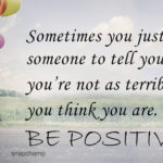 Think Positive Words Quotes Twitter