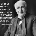 Thomas Edison Famous Quotes Pinterest