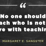 Thought For The Day For Teachers With Explanation Pinterest