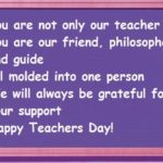 Thought Of The Day For Teachers Day Facebook