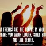 Three Friends Quotes Facebook