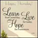 Thursday Uplifting Quotes Twitter