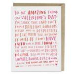 To My Best Friend On Valentine's Day