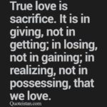 True Love Sacrifice Quotes Twitter