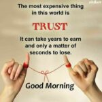 Trust Good Morning Quotes Facebook