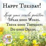 Tuesday Morning Quote Of The Day Pinterest