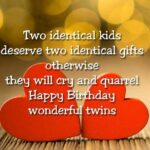 Twins Birthday Quotes