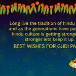 Ugadi Gudi Padwa Wishes
