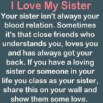 Unbiological Sister Quotes Facebook