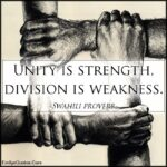 Unity In Strength Quotes Tumblr