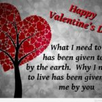 Valentine Day Images With Message Pinterest