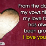 Valentine Messages For Wife In English Facebook