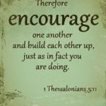 Verses About Encouraging Others