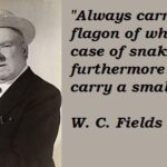 Wc Fields Famous Quotes